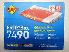 Original AVM FRITZBox 7490 DSL-Router VDSL/ADSL2+/ADSL 4x Gigabit USB 3.0 NEU