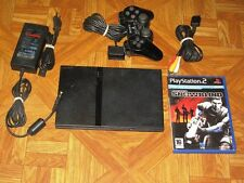 Console playstation ps2 slim+ JEUX