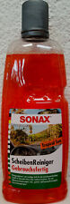 SONAX ScheibenReiniger Sommer Gebrauchsfertig Tropical Sun 387341 Klare Sicht 1L