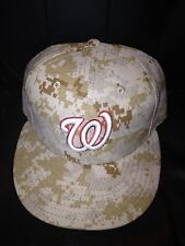 2013 Game Used Ryan Zimmerman Washington Nationals Memorial Day Cap - MLB Auth