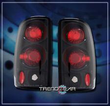 2000-2006 Chevy Suburban Altezza Brake Tail Lights Lamp Black Yukon Xl 1500/2500