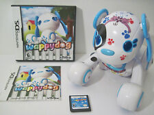 Wappy Dog COMPLETE Game & Electronic dog INTERACTIVE PUPPY Nintendo DS 2011 CUTE