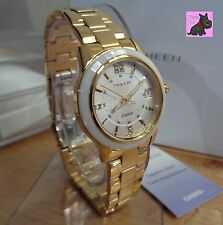 Casio SHE-4512G-7AUER Sheen Gold Plated with Swarovski Elements - RRP: £180