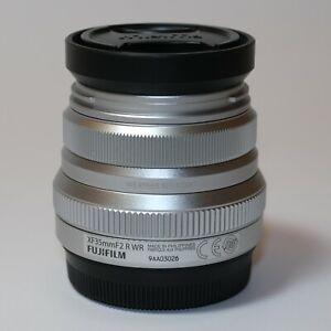 Fujifilm Fujinon XF 35mm F2 R WR Silver Lens - MINT CONDITION BOXED