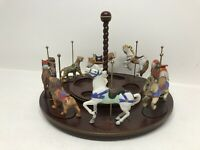 Franklin Mint Collectible Carousel Collection