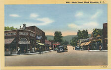 Black Mountain NC * Main St. 1940s    Drug Store    Buncombe Co.