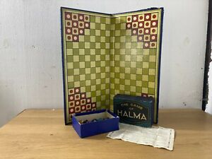 Vintage Chad Valley The Game of Halma Boardgame and Pieces