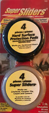 8-Pack Waxman 3 1/2-inch Round Super Sliders & Protection Pads - 7038 - NEW
