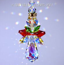 m/w Swarovski Sweetheart Christmas Angel Suncatcher Ornament Lilli Heart Designs
