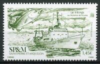 Saint-Pierre & Miquelon SP&M Ships Stamps 2020 MNH Fecamp Fisheries Fish 1v Set