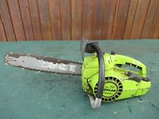 """Vintage POULAN SUPER 250A AUTOMATIC Chainsaw Chain Saw with 14"""" Bar"""