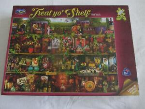 Holdson 1000 Piece Puzzle 'Treat yo' Shelf' - Wine Shelves