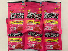 SEALED 6 PK - Jelly Belly Sport Beans Energizing Jelly Beans (1 oz ea) BBD 08/20