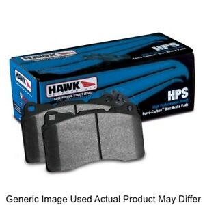 Hawk HB290F.606 HPS Rear Brake Pad Set For Porsche Boxster Roadster NEW