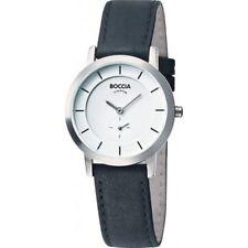 Boccia Titanium Case Analog Wristwatches