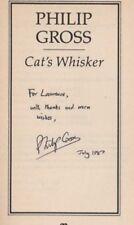 Cat's Whisker. Philip Gross. Poetry   SIGNED.    HL6.237