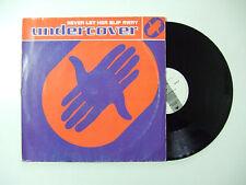 """Undercover – Never Let Her Slip Away - Disco Mix 12"""" 45 Giri Vinile 1992 House"""