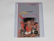 Contra Nes Cartridge Replacement Game Label Sticker Precut