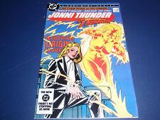 Jonni Thunder #1 1985  DC Comics  1st appearance & origin of Thunderbolt