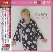 Nicki Parrott Close To You Burt Bacharach Song Book Japan Venus Audiophile SACD