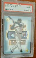 2003 SP Authentic Baseball - #67 - Barry Bonds - Giants PSA 9