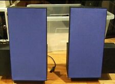 PAIR B&O 6201 BANG AND OLUFSEN BEOLAB 2500 ACTIVE SPEAKERS IN BLUE