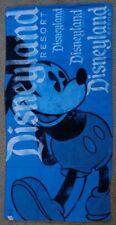 Disneyland Resort Mickey Mouse Beach Towel Color Aqua Blue/Black/White New
