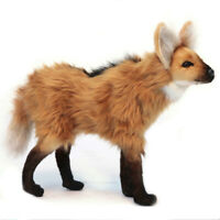 Maned Wolf Hansa Realistic Soft Animal Plush Toy 39cm **FREE DELIVERY**
