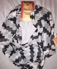 NEW Mudd Infinity Scarf Gray. New With Tags. MSRP $26.00. Free Shipping!