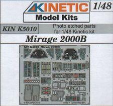 Kinetic 1/48 Dassault Mirage 2000B Detailing Set # K5010