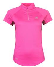 Karrimor Running Zipped Short Slaved T shirt Ladies Sizes 12 14 16