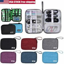 Electronic Accessories Cable USB Drive Organizer Bag Travel Insert Case Storage