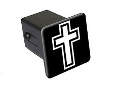 "Cross Christian Religious - 2"" Tow Trailer Hitch Cover Plug Insert"