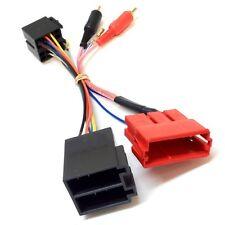Se adapta a PC9-404 AUDI A3 96-06 Amp Bypass Media Amplificado RCA a ISO Adaptador De Plomo
