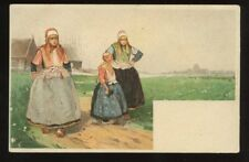 Netherlands Marken H CASSIERS Chromo Litho early u/b PPC