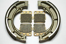 Rear Brake Shoes Pads Front Brakes For Suzuki LT-F 400 F EIGER 4WD LTF400F 2006