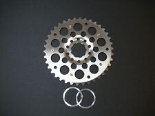 MTB Tools 38 Tooth Cog for Mountain Bike Cassette, 38t Sprocket