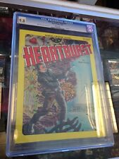 Marvel Graphic Novel 10 Heartburst 1St Print First Cgc 9.8 White Pages!