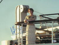 KATE WINSLET SIGNED 11X14 PHOTO TITANIC AUTHENTIC AUTOGRAPH BECKETT COA A