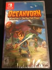 OCEANHORN Monster Of Uncharted Seas Nintendo SWITCH Limited Run Games Lot SEALED