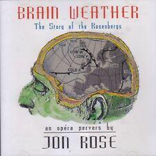 Jon ROSE Brain Weather CD Opera Pervers ReR Blegvad Shelley HIRSCH Phil MINTON
