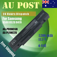 6 Cell Laptop Battery for Samsung R470 R522 R530 R580 R780 AA-PB9NC6B AA-PB9NS6B