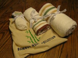 Bamboo Home Collection Towels Face Towel, Small Towel and Large Towel New