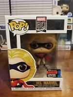 Funko Pop Marvel 80 Years #527 Ms Marvel 2019 Fall Convention