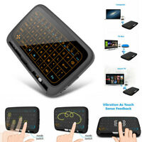 H18Plus 2.4GHz Mini Wireless Keyboard Touchpad With Backlight Function Air Mouse