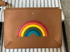 Anya Hindmarch Rainbow Leather Pouch