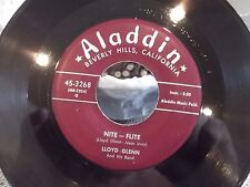 45 ! LLOYD GLENN ALLADIN RECORDS STILL WATERS / NITE-FLITE BEAUTIFUL COPY