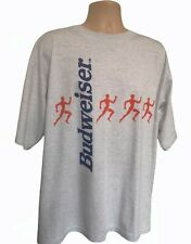 More details for vintage budweiser t shirt 3xl atlanta olympics 1996
