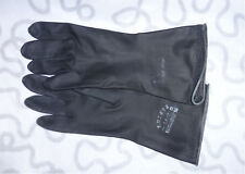Industriehandschuhe Haushaltshandschuhe Gummihandschuhe schwarz rubber gloves#24