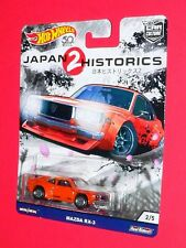 Hot Wheels MAZDA RX-3  CAR CULTURE JAPAN HISTORICS 2   FLC07-4B10  Real Riders